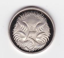 2009  Five 5 Cent Proof Coin ex Coin Set Australia
