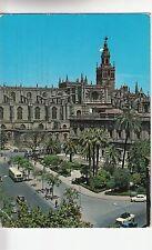 BF22756 sevilla archivo de indias y la catedral  spain  front/back image