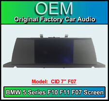 "BMW 5 Series display screen , BMW F10 F11 F07, CID 7"", LCI Multi function"