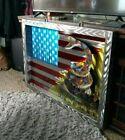 American flag metal Wall art don't tread on me home decor patriotic deck porch