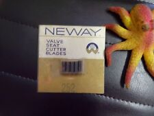 NEW Neway Valve Seat Cutter Blade 252  *FREE SHIPPING*