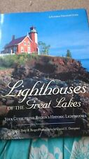 Lighthouses of the great lakes. American lighthouses.