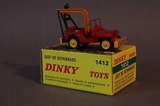 Dinky toys Atlas 1412 JEEP dépannage