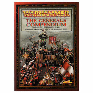 General's Compendium - Warhammer Fantasy OOP Supplement Pre-owned Generals THG