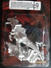 Warhammer Dark Elves Elf Supreme Sorceress on Cold One Sealed Blister Metal 8545