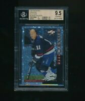 1997-98 Score Canucks Platinum #3 Mark Messier BGS 9.5 VHTF Rare