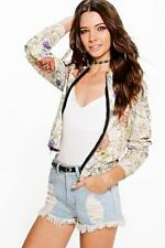 Boohoo Bomber Casual Coats & Jackets for Women