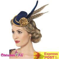 fe2a4999e3a Womens Authentic Bavarian Oktoberfest Mini Hat Oktoberfest Fancy Dress  Accessory