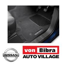 New Genuine Nissan Navara NP300Carpet Floor Mat Set Manual Only RRP $140