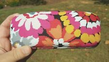 Vera Bradley NEW Hard EYEGLASSES SUNGLASSES CASE Pink White Orange Grey Black