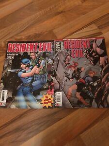 Resident Evil Comic Gamix 3&4