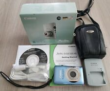 Canon Power Shot SD1300 IS Digital Elph Camera Bundle Blue 12MP Video