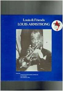 LOUIS ARMSTRONG LOUIS AND FRIENDS LP BILLIE HOLIDAY ELLA FITZGERALD