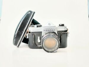 Pentax Spotmatic SP 35mm Film SLR Camera + 50mm f1.4 Lens Sold as is, not tested