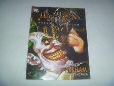 Batman Arkham Asylum The Road to Arkham Mini Comic Book #0 2009 Very Rare Amazon