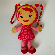 "Team Umizoomi Millie Milly Plush Doll 9"" Toy Girl Pink Red Nickelodeon Nick Jr"