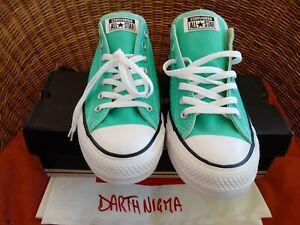 Converse Chuck Taylor All Star Low Top Menta UK11.5 EU46 Sneakers Uomo New Box