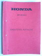 Ersatzteil-Katalog 1 - Honda CR 125 M 2, 28 Seiten