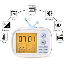 Alarm Clock for Kids, Digital Clocks for Bedrooms, Cute Alarmclock for Living...