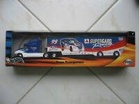 2001 Hot Wheels Racing Team Transporter #99 Jeff Burton Citgo Supergard Racing