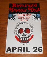 Reverend Horton Heat Poster Original 2-Sided Promo 11x17