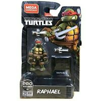 Mega Construx Teenage Mutant Ninja Turtles Raphael TMNT GNV38 Black Series 25 Pc