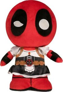 Deadpool - Deadpool as Maid SuperCute Plush-FUN30809