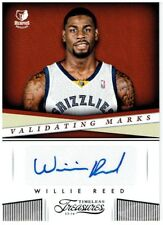 Willie Reed 2013-14 Timeless Treasures Validating Marks #41