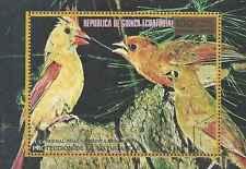 Timbre Oiseaux Guinée équatoriale o lot 13286