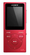SONY Walkman NW-E394R 8 GB MP3 Player with FM Radio - Red