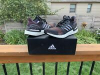 Adidas Men's Size 11 UltraBOOST 19 Running Shoes Multicolor G54011 USED w Box