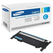 1x  Original Toner Samsung CLP320N CLP325W CLX3185FN CLX3185FW CLT-C4072S/ELS