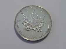 Kanada - 5 Dollar - Silber - ST - Maple Leaf - 1 Unze Silber - 1989