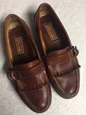 Sperry Topsider Wetlands Men's Brown Leather Slip On Kilt Casual Shoes Size 10.5