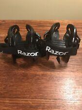 Razor Jetts Heel Wheels Heelys Adjustable Strap On Shoes Skates