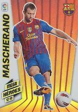 N°374 MASCHERANO MEGA HEROES FC.BARCELONA OFFICIAL TRADING CARD PANINI LIGA 2013