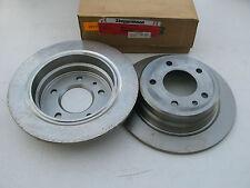 NEW ZIMMERMANN Rear Disc Brake Rotor 34211162968 FOR BMW 1985-1989 - 2 PCS