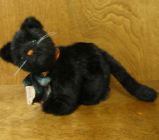 "Boyds Plush #574200 Sooty P Pussyfoot, New/Tag From Retail Store 7"" Jointed Cat"