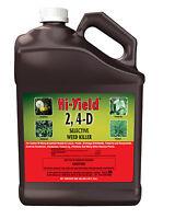 2, 4-D Broadleaf Weed Killer Herbicide Conc 1GL Lawns Ponds Drainage Ditchbanks