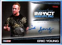 TNA Eric Young 2011 Tristar Signature Impact SILVER Autograph Card SN 70 of 99