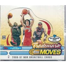 2006-07 2006-2007 Topps Trademark Moves NBA Basketball Hobby Box