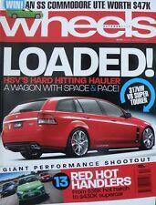 Wheels Magazine October 2008 - Loaded! HSV's Hard Hitting Hauler