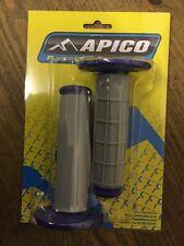 APICO BLUE QUALITY HANDLE BAR GRIPS MOTOCROSS PIT BIKE ETC