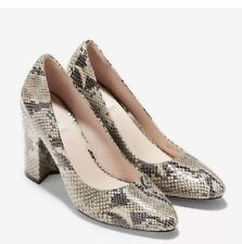 Cole Haan Eliree 85mm Pump in Sahara Snake Size 6