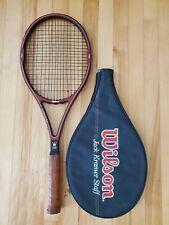 Wilson Jack Kramer Staff Midsize Tennis Racquet - Grip 4 1/2