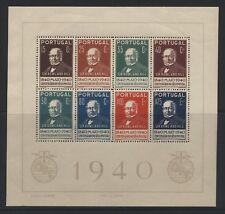 Portogallo 1940 100° francobollo BF2 nuovo gomma integra disturbata MNH (N621)