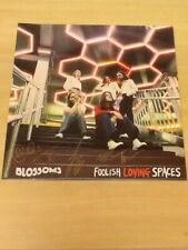 SIGNED/SEALED-BLOSSOMS LP-FOOLISH LOVING SPACES-BLACK VINYL-FULLY AUTOGRAPHED-MM