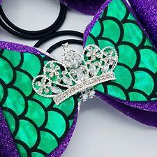 Cheer Bow - Mermaid Rhinestone Tiara- Double Tailles - Hair Bows