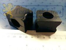 Jeu de 2 paliers de barre anti-devers AV 19 mm Peugeot 204 et 304