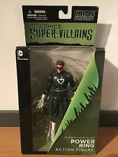 MOC Dc Comics Super Villains New 52 Power Ring Action Figure